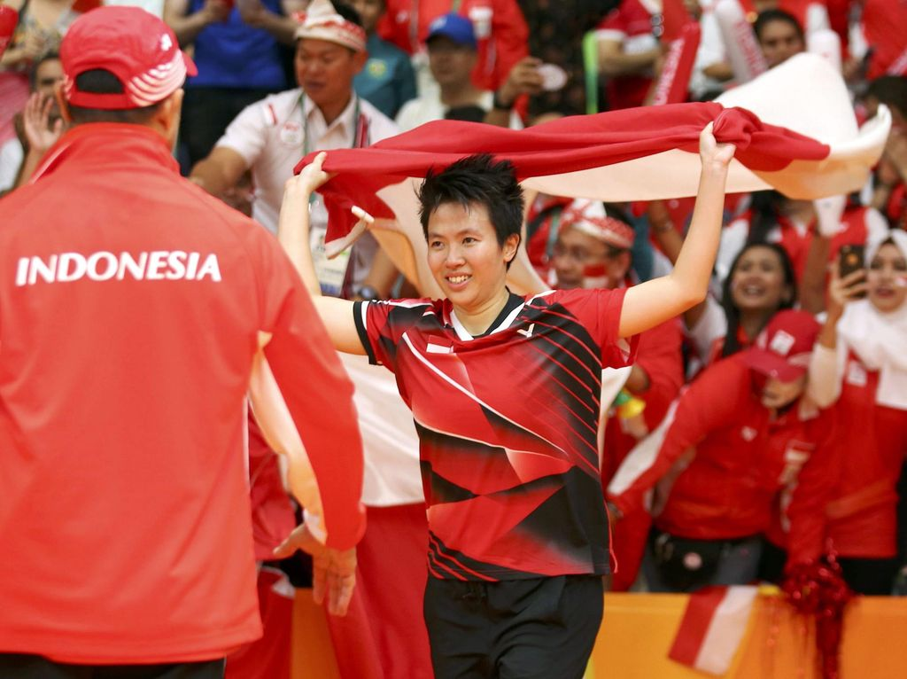 Liliyana Natsir: Terima Kasih PBSI dan Indonesia!