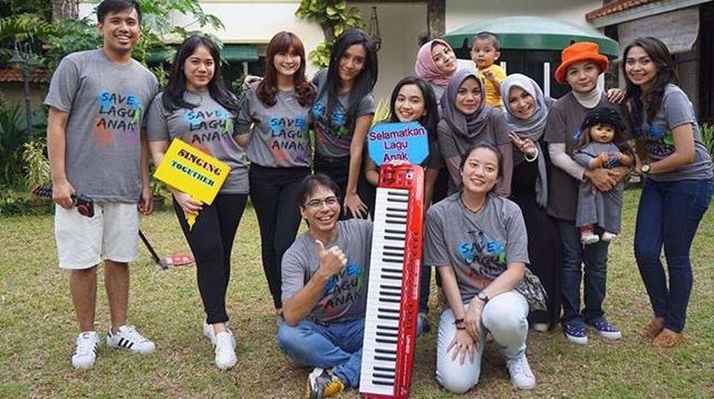 Penyanyi Idola Berkampanye untuk Selamatkan Lagu Anak