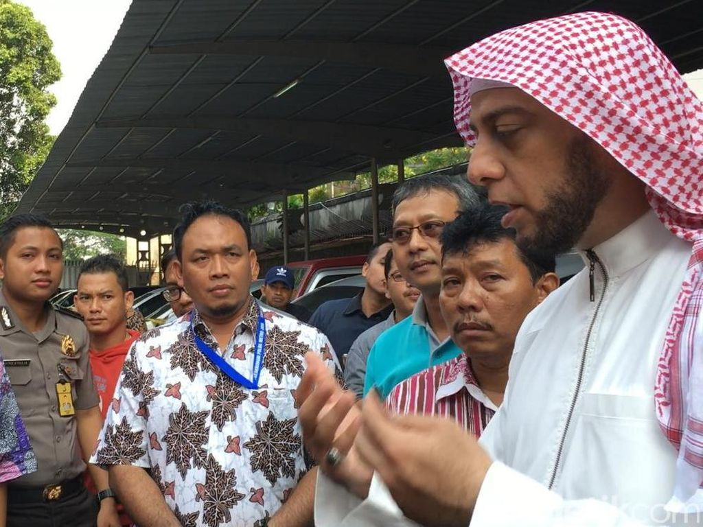 Syekh Ali Jaber Apresiasi Polda Lampung, Harap Kasus Diproses Tuntas