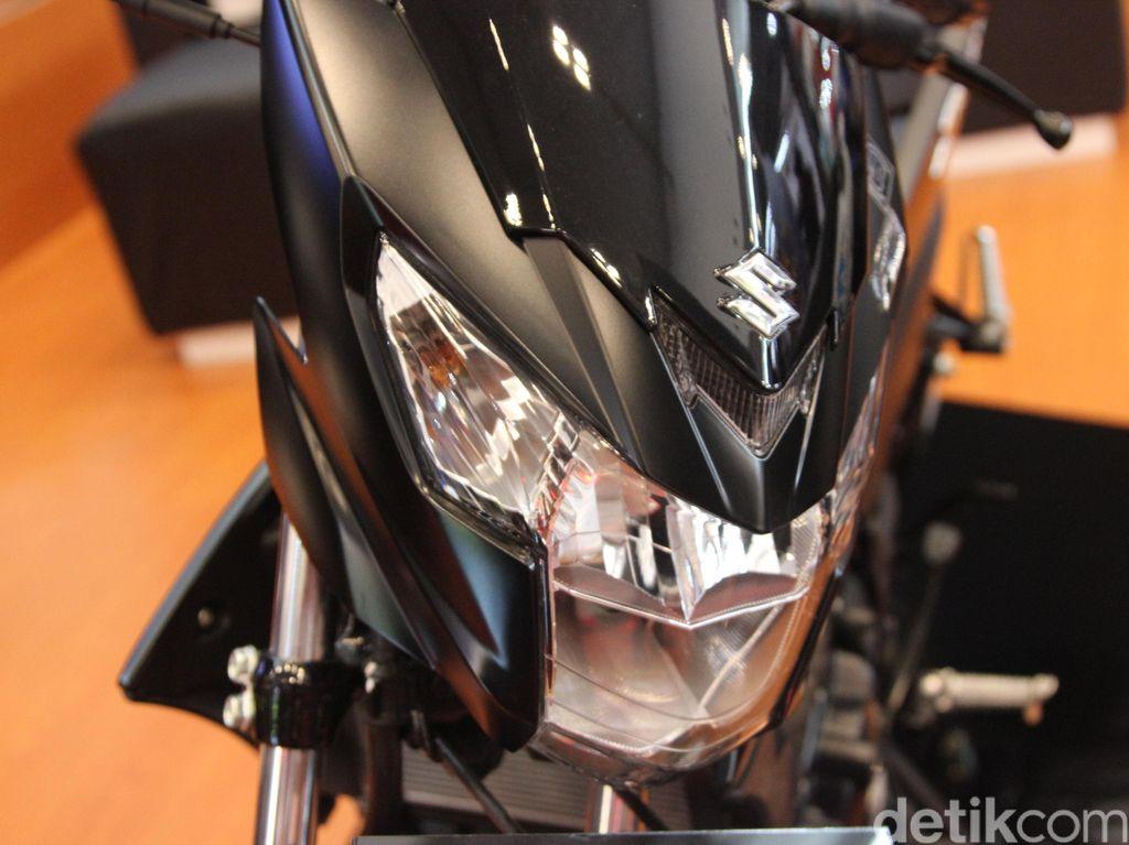 Suzuki Rilis Satria F150 Black Predator