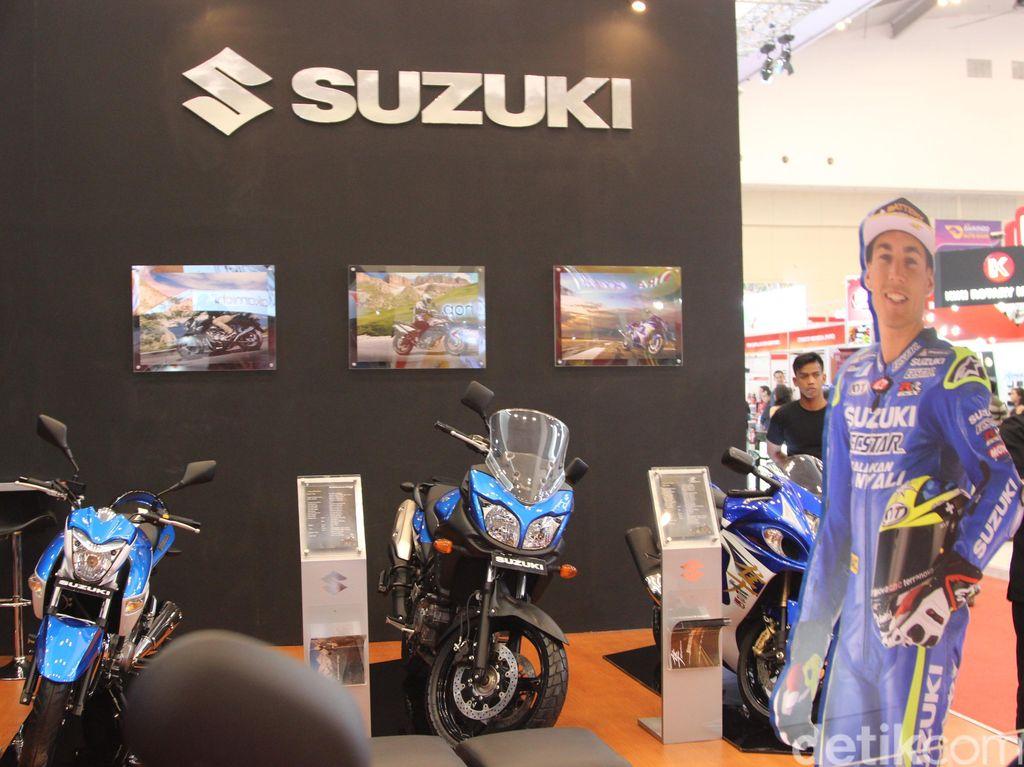 Suzuki Mau Bikin Fitur Keselamatan Motor Pakai Laser