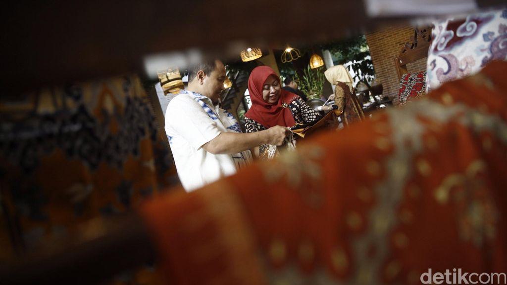 Persiapan Pameran Warisan Citra Batik Nusantara