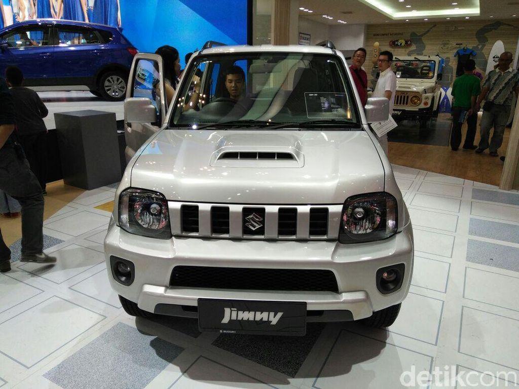 Suzuki Kewalahan Penuhi Permintaan Jimny di Indonesia
