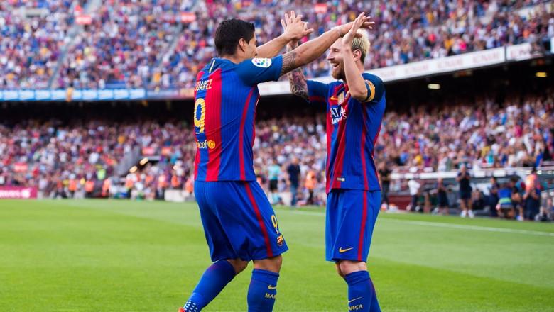 Suarez-Messi Pakai Nomor Spesial di Laga Uruguay vs Argentina
