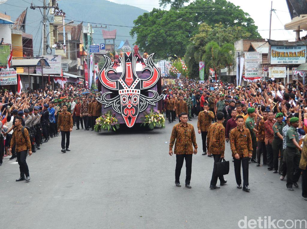 Karnaval Kemerdekaan di Bandung Sabtu ini Berlangsung Pukul 14.00 WIB