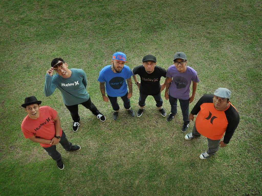 Garap Album Baru, Shaggydog Karantina di Lereng Merapi