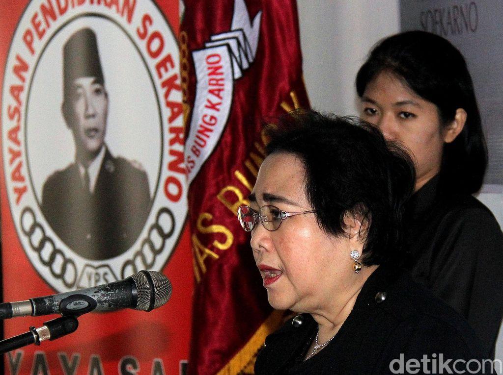 PDIP soal Perseteruan Mega-Rachma: Orba Tak Suka Trah Bung Karno Bersatu