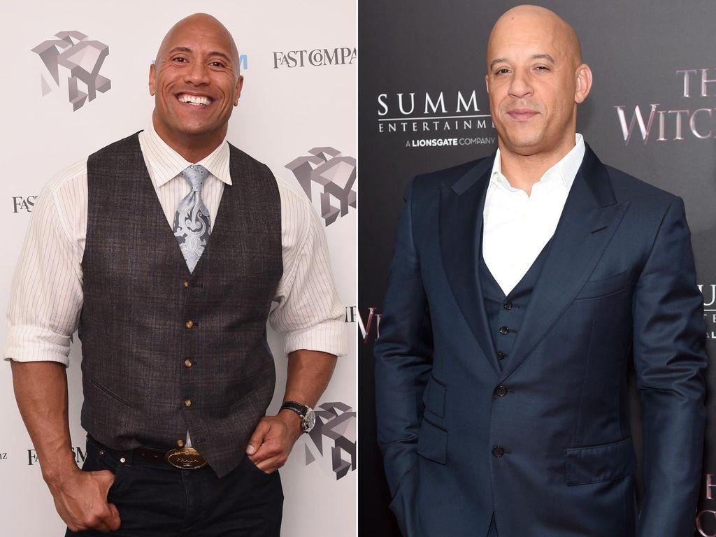 Dwayne Johnson Bicara Soal Perselisihan dengan Vin Diesel