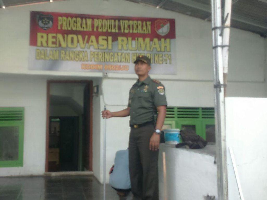 Kodam Jaya Bantu Bedah 71 Rumah Veteran