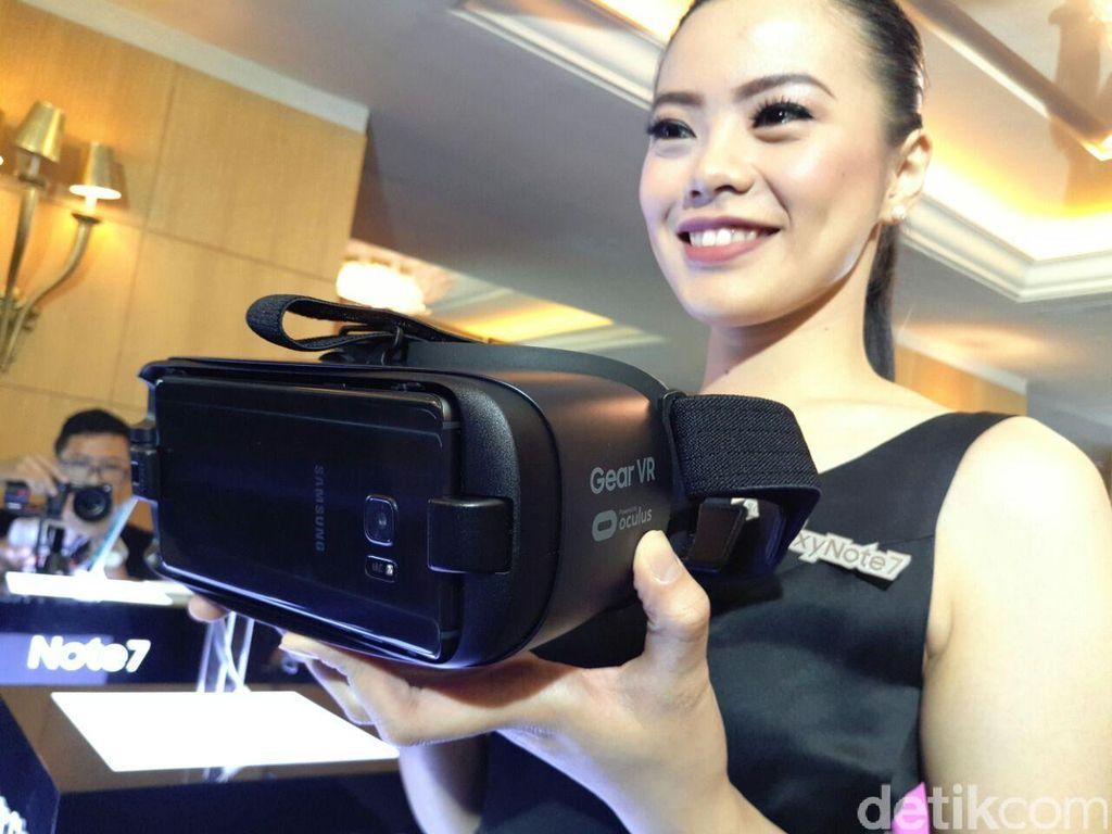 Samsung Gear VR 2 Usung Sensor Pelacak Mata?