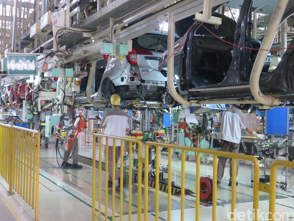 Permintaan Menurun, Daihatsu Kendurkan Produksi Mobil
