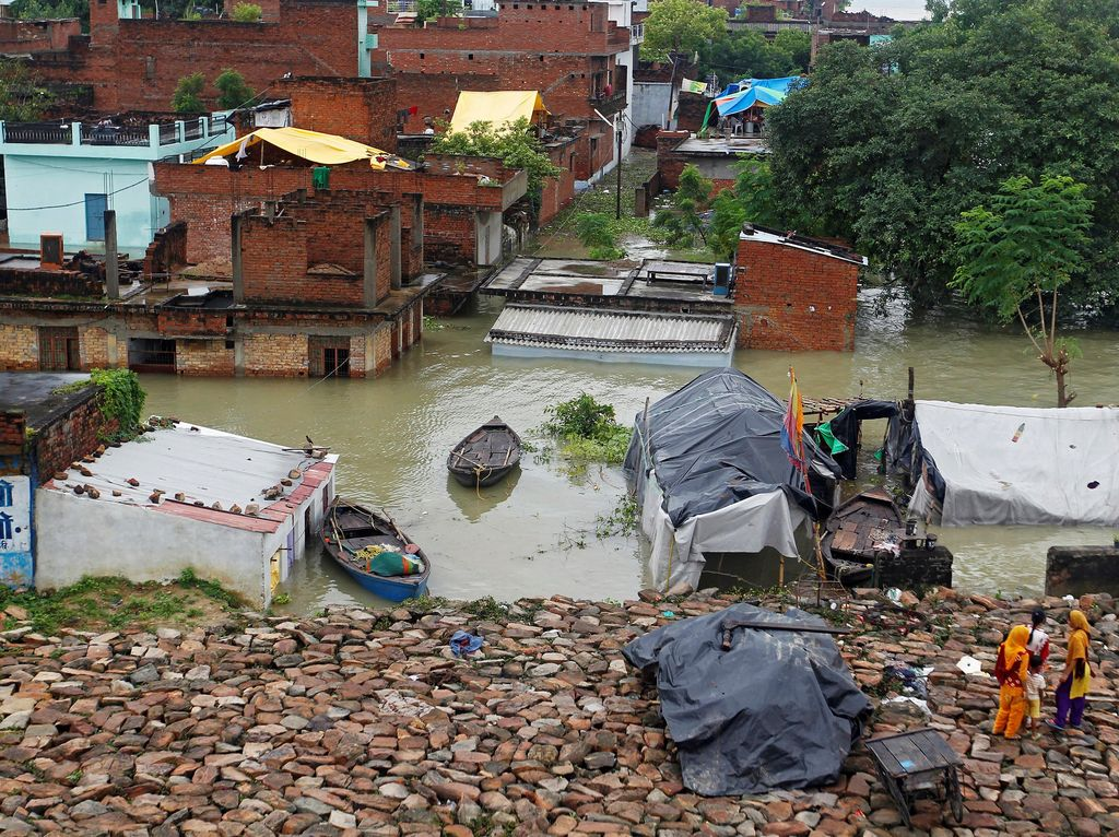 Banjir Parah di India Tewaskan 300 Orang, 6 Juta Warga Terkena Dampak