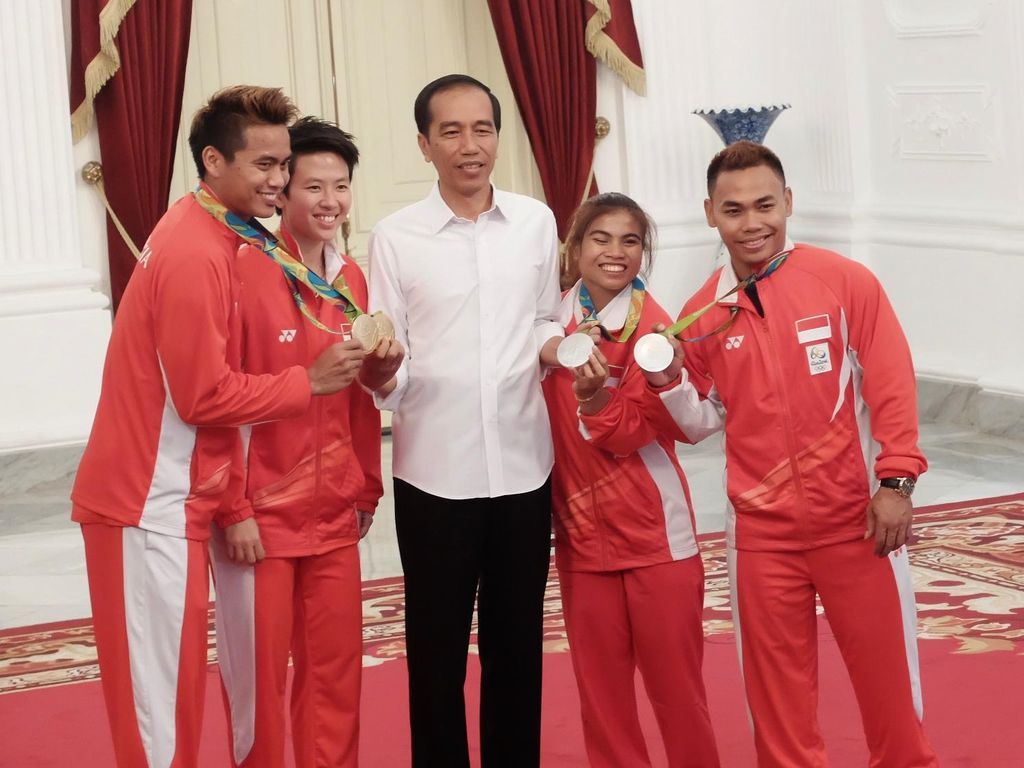Minim Prestasi, Jokowi Minta Tata Kelola Pembinaan Atlet Dirombak