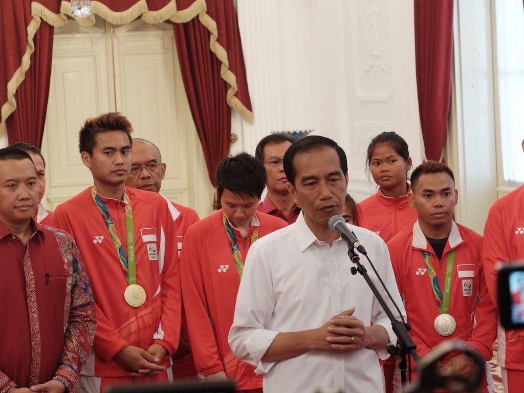 Sebut Hasil Sudah Maksimal, Jokowi Apresiasi Seluruh Atlet Olimpiade Indonesia