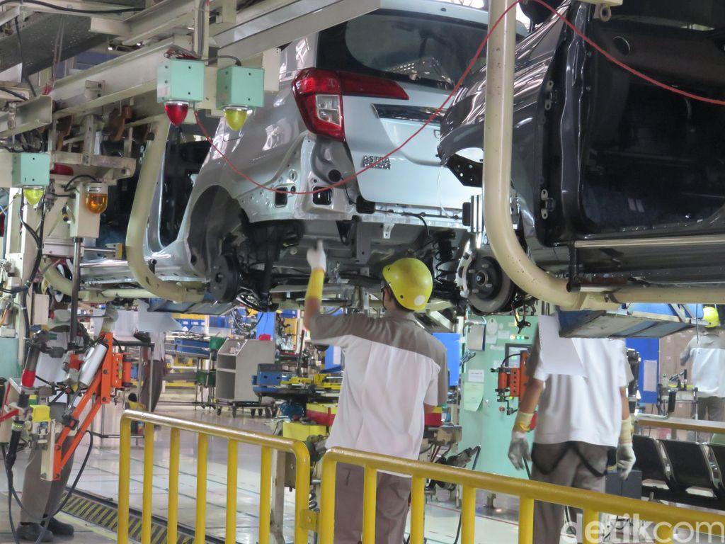 Setelah Libur Panjang, Pabrik Daihatsu Ngebul Lagi