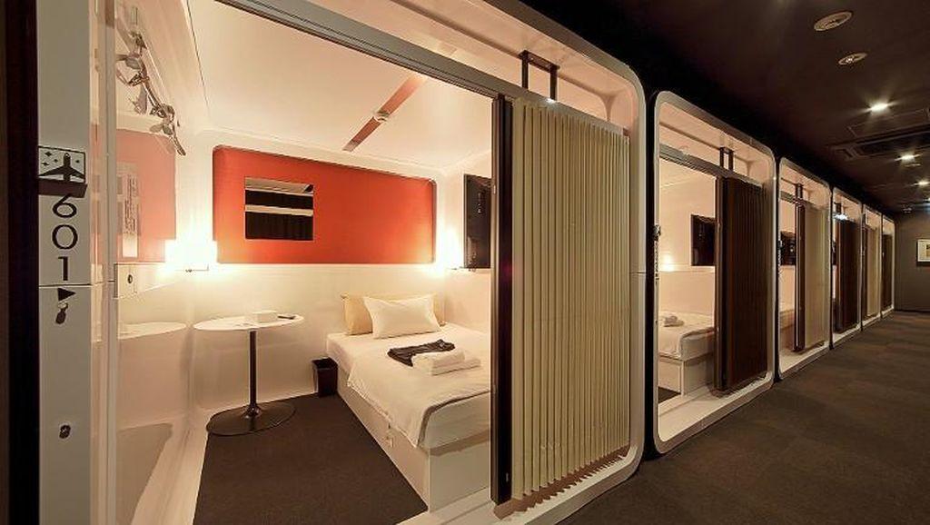 Foto: Hotel Kapsul Mewah dari Tokyo