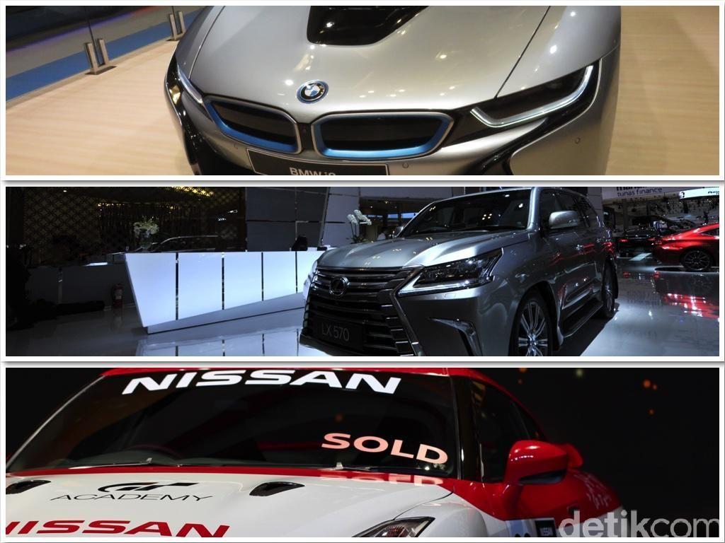 Mobil dengan Harga Super Mahal yang Laris Manis di GIIAS
