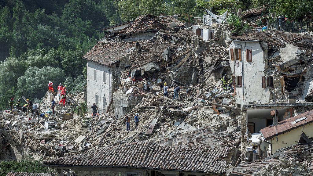 Ini Penyebab Gempa Italia Telan Banyak Korban Menurut Analisa BMKG
