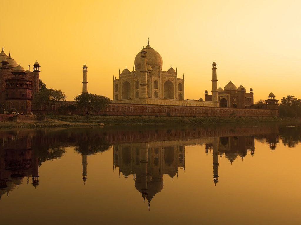Pengumuman! Harga Tiket Taj Mahal Jadi Lebih Mahal