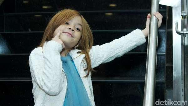 Centilnya Shafeea Tampil Bak Princess