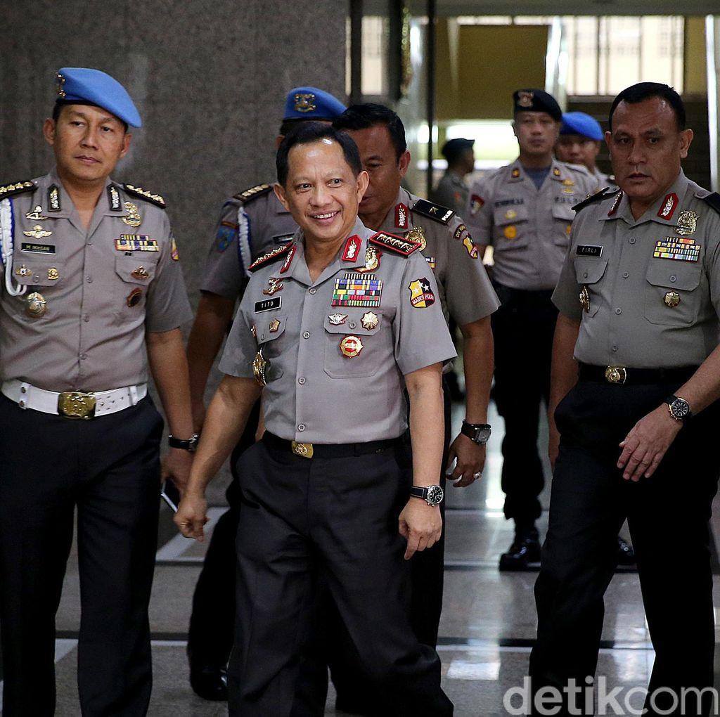 Antisipasi Gangguan Keamanan, Kapolri Kaji Pemindahan Lokasi Sidang Ahok