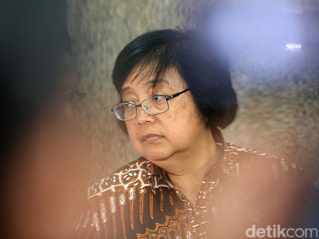 Menteri LHK Siti Dukung Penuh Kapolri Usut Penyanderaan Staf KLHK di Rohul
