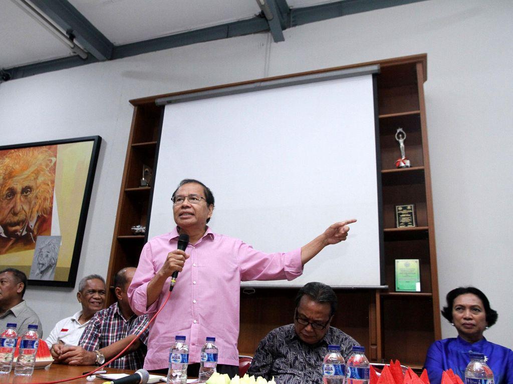 Rizal Ramli Buka-bukaan Soal Ancaman Resesi