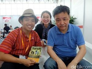 Agustinus Wibowo dan Yu Hua Ngobrol Bareng di BIBF 2016