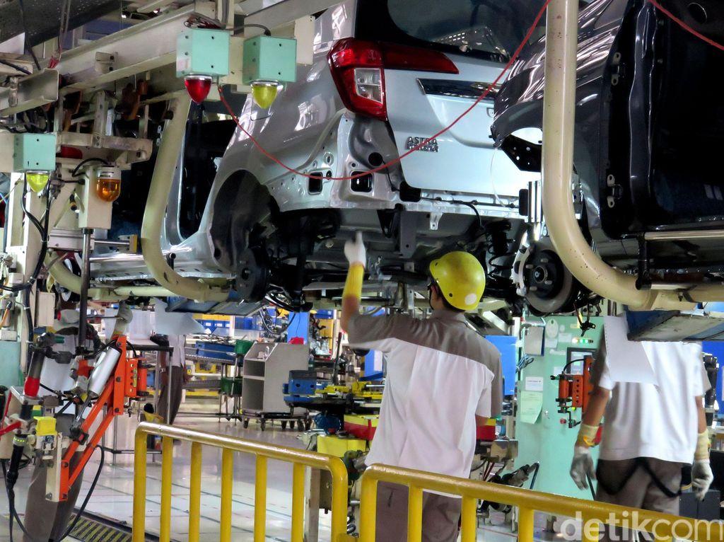Daihatsu Sempat Tutup Pabrik Sementara, Distribusi ke Dealer 0 Unit