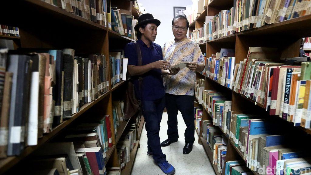Rizal Ramli Kunjungi Museum HB Jassin