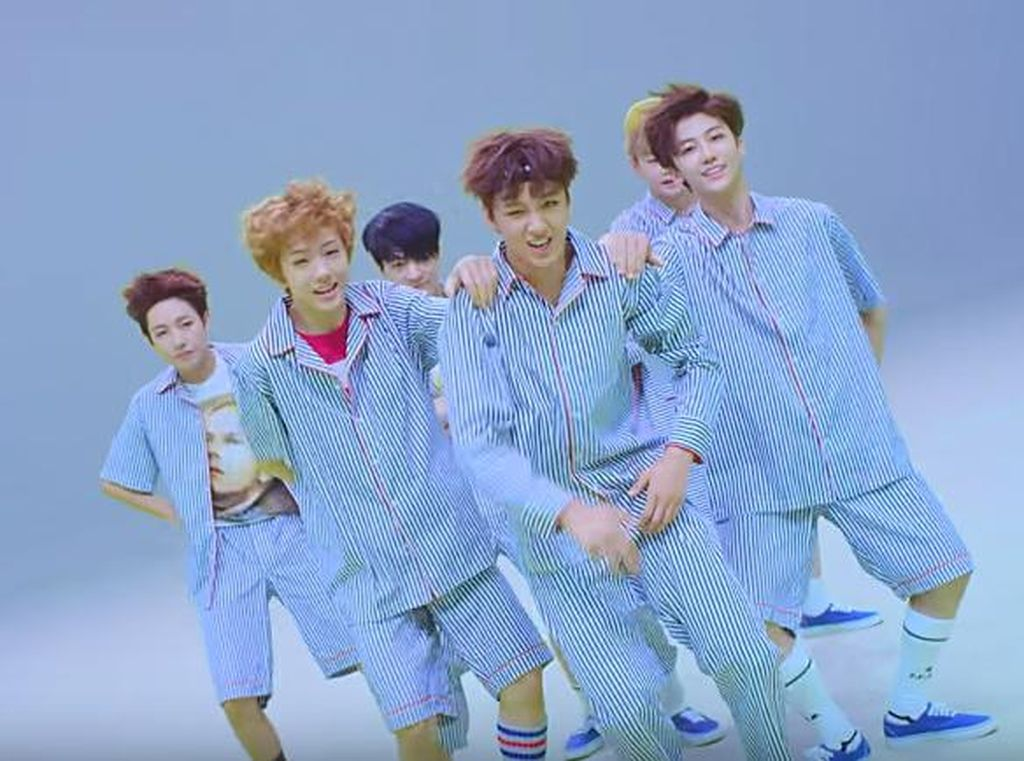 NCT Dream Debut Perdana dengan Chewing Gum