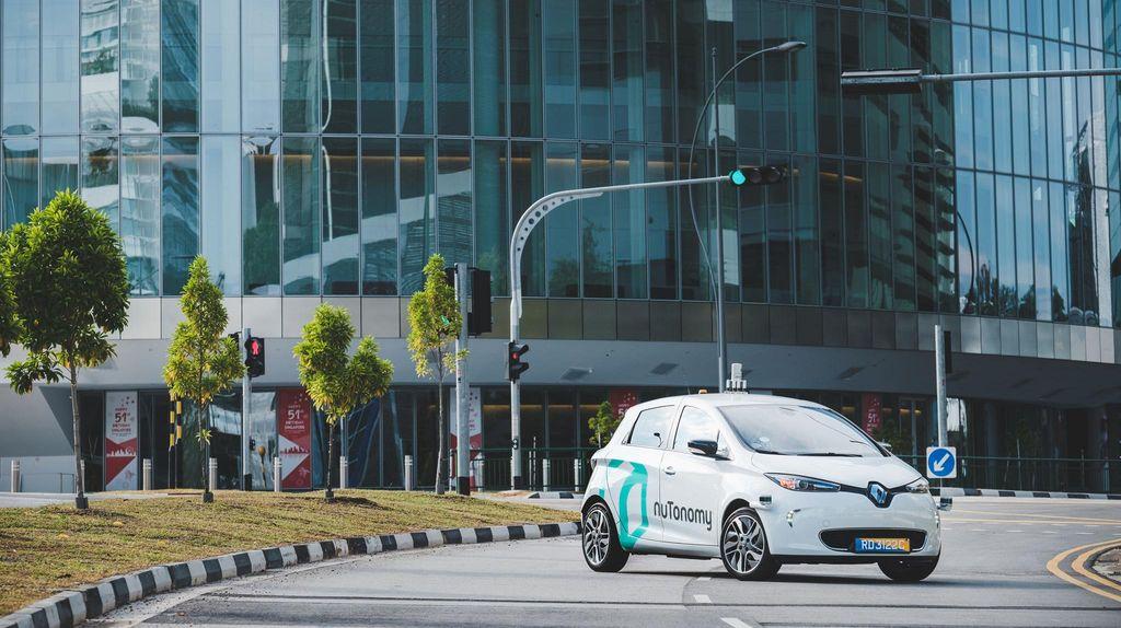 Mobil Otonom Ini Diuji di Singapura