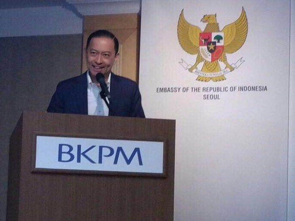 Thomas Lembong Lantik 4 Pejabat Eselon I BKPM