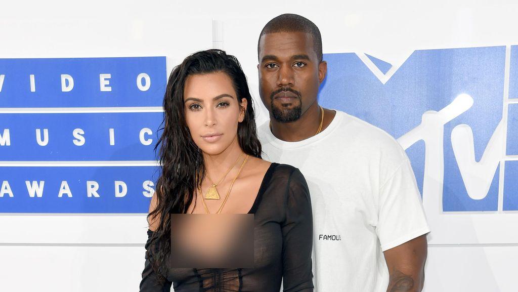 Penampilan Terbaru Kanye West Pasca Dirawat karena Gangguan Jiwa