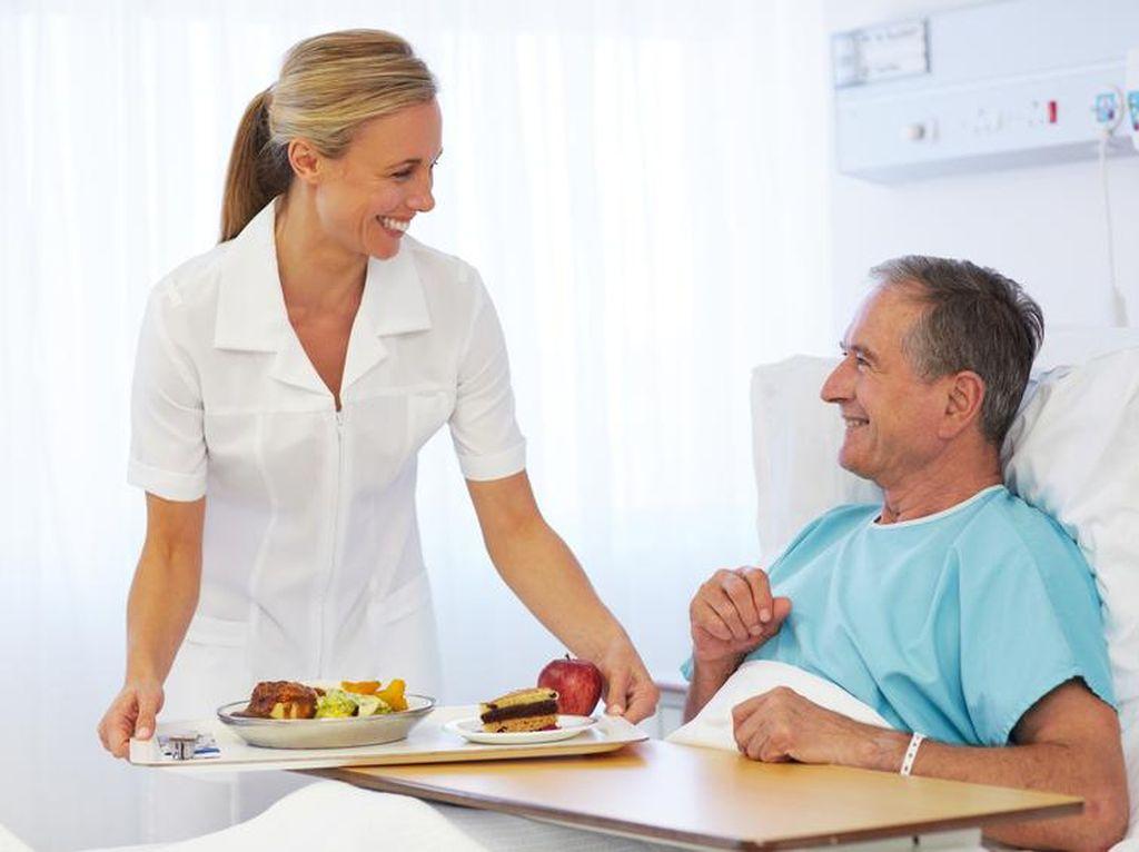 Agar Pasien Cepat Pulih, Makanan yang Disajikan di Rumah Sakit Harus Enak