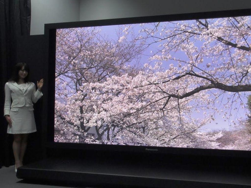 Sony dan Panasonic Berlomba Garap TV 8K