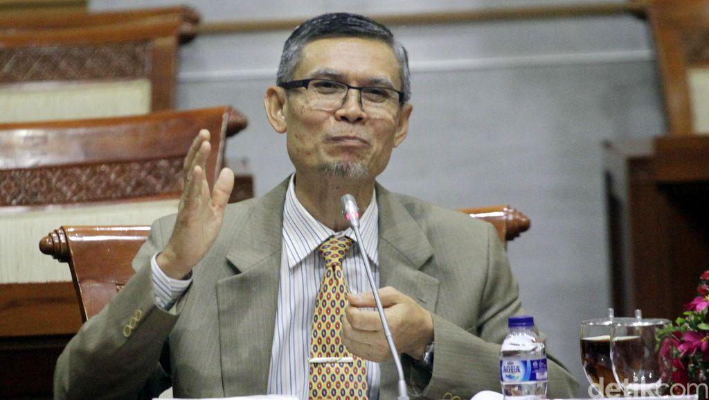 Edi Riadi Jalani Uji Kelayakan Calon Hakim Agung