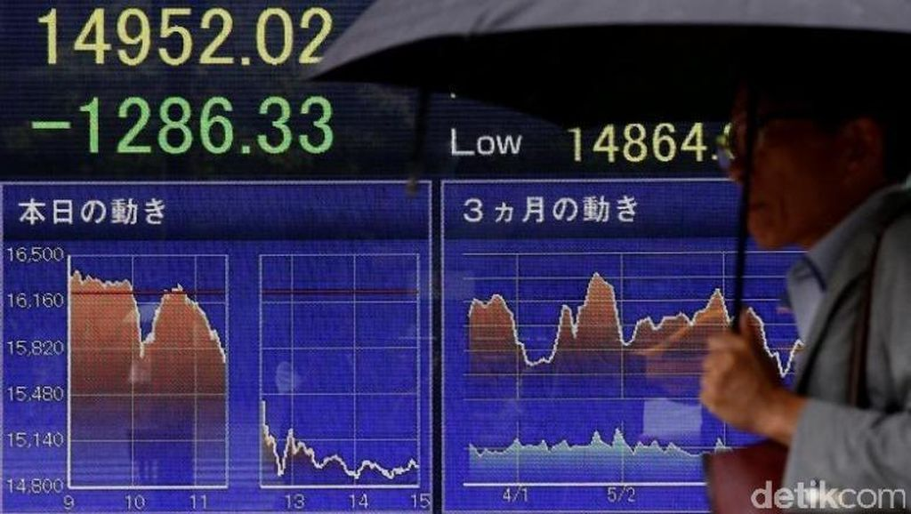 Bursa Saham Asia Berguguran: Paling Dalam Jepang -3,10%, RI -0,88%