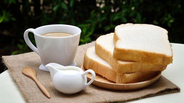 Ilustrasi Sarapan Roti