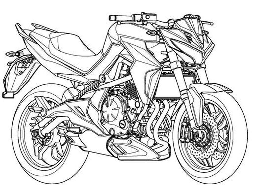 Kymco Ajukan Paten Motor Naked, Berbasis Kawasaki ER-6?