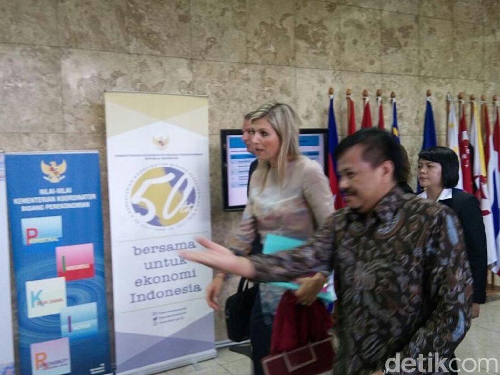 Kunjungi Darmin, Ini Kesan Ratu Belanda Terhadap Akses Keuangan RI