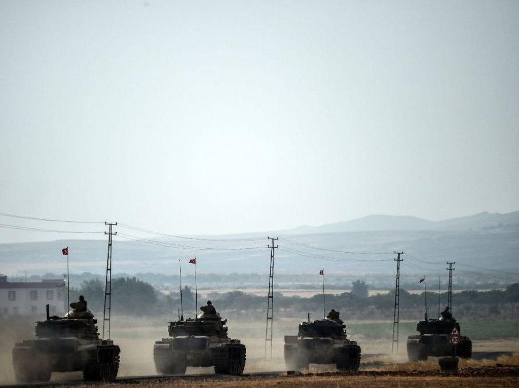 Pertama, Seorang Tentara Turki Tewas dalam Operasi Militer di Suriah