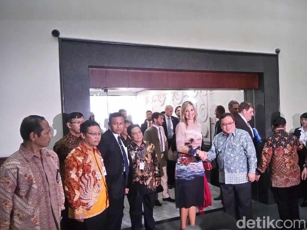 Di Depan Ratu Belanda, Bambang Pamer Subsidi Voucher