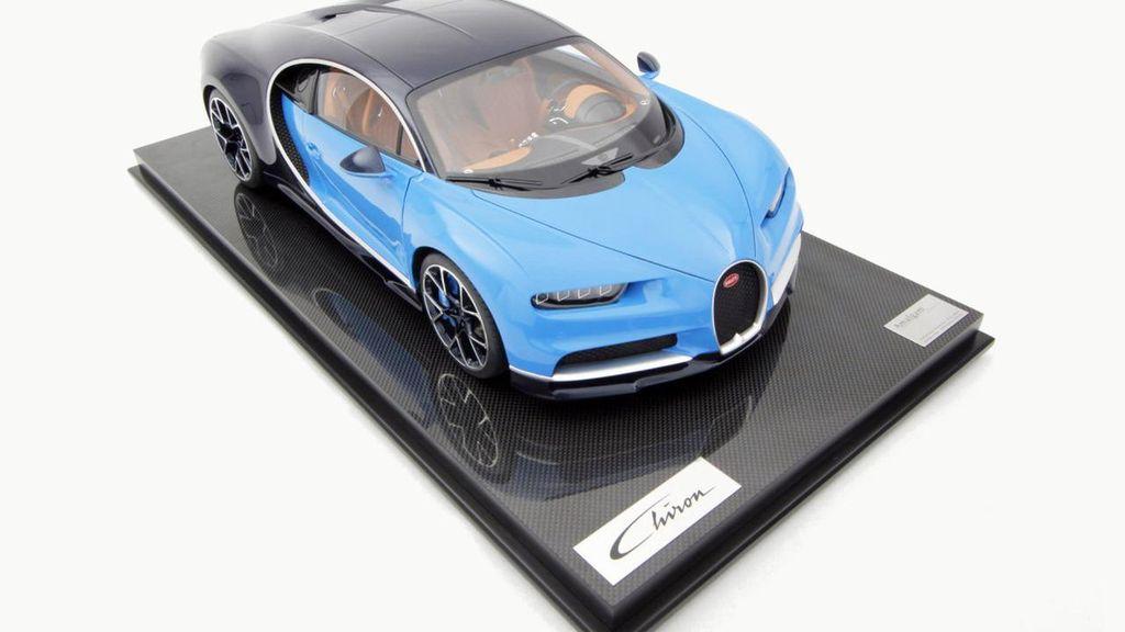 Miniatur Bugatti Chiron yang Harganya Ratusan Juta Rupiah