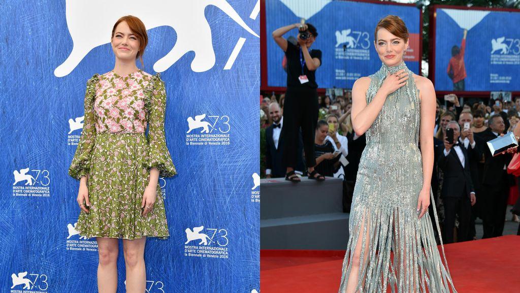 Pesona Emma Stone di Venice Film Festival