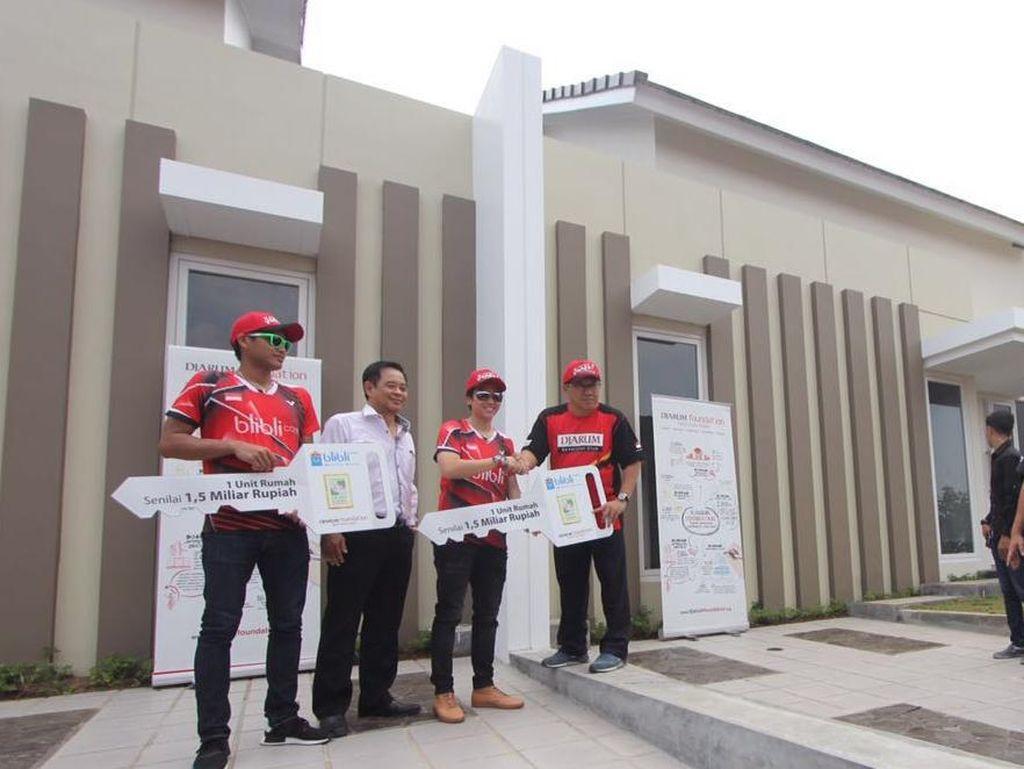 Lagi, Hadiah Besar untuk Owi/Butet Plus Rumah Rp 1,5 M