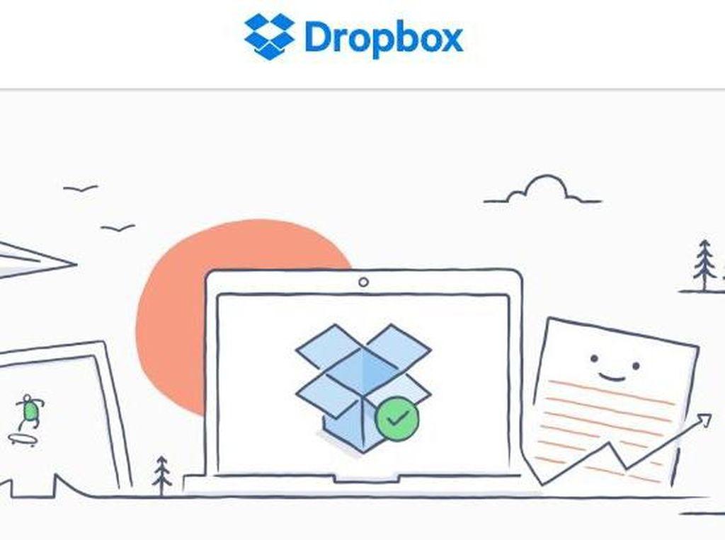 Jutaan Password Pengguna Dropbox Tercecer di Internet