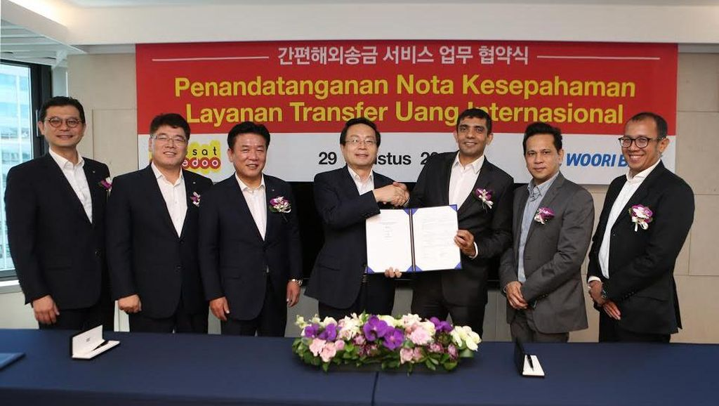 Indosat Garap Bisnis Kirim Uang TKI di Korsel