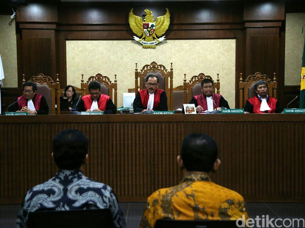 2 Hakim Berbeda Pendapat Soal Putusan Kasus Pemberian Janji ke Kajati DKI