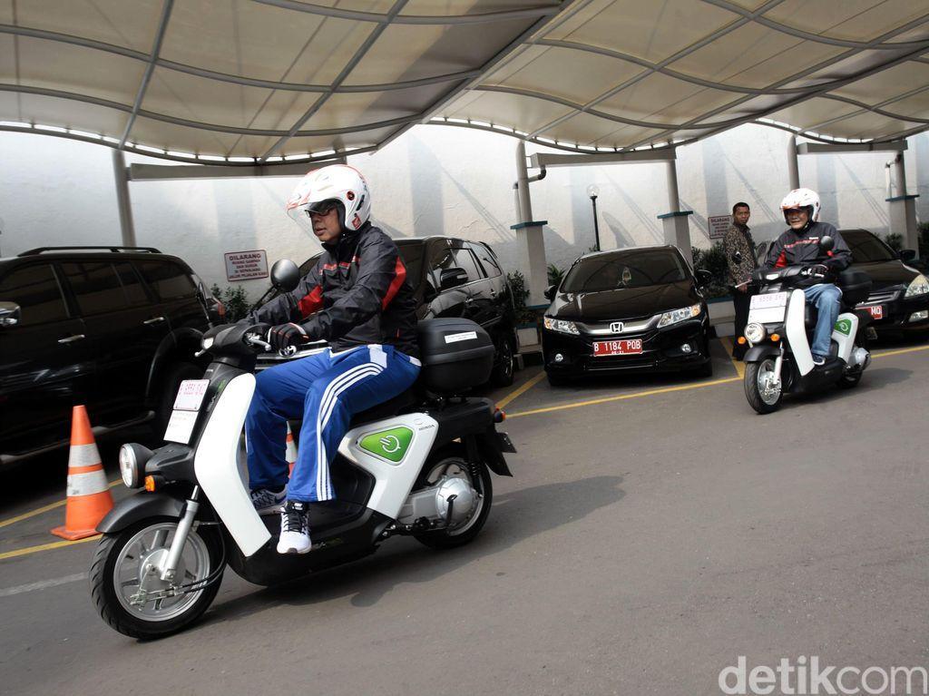 Ini Pertimbangan Honda Belum Jual Motor Listrik di Indonesia